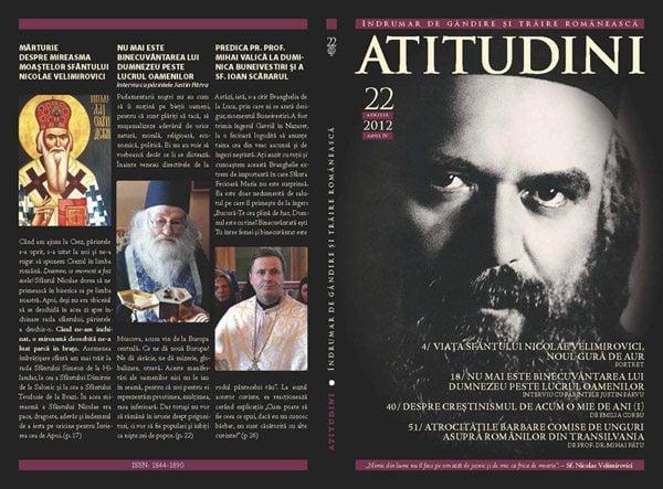 A apărut revista ATITUDINI, nr. 22
