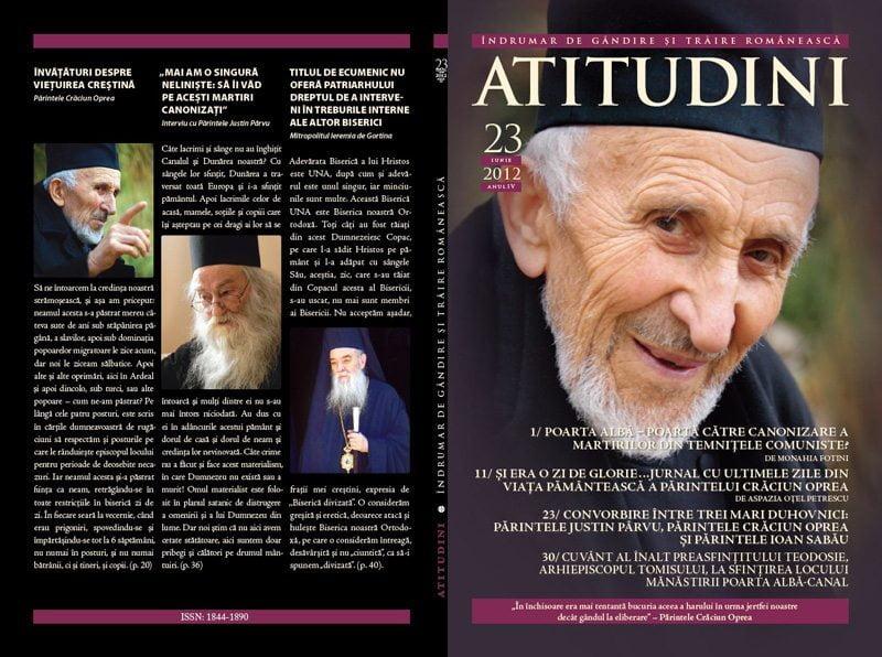 A apărut revista ATITUDINI, nr. 23