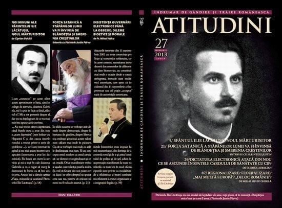 A apărut revista ATITUDINI, nr. 27 închinată Sf. Ilie Lăcătușu