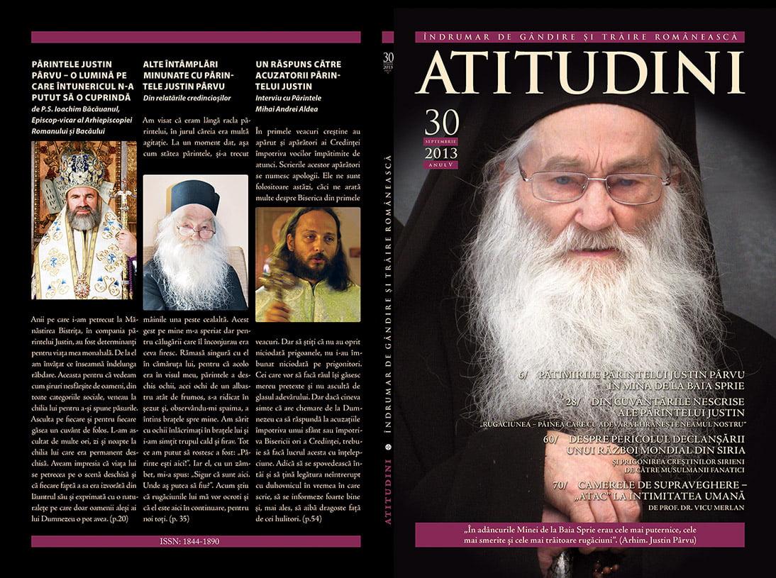 A apărut revista ATITUDINI, nr. 30
